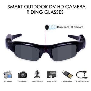 Fishing Glasses Camera Recording 3 In 1 Digital Video Camera Sunglasses UV400 Outdoor Sports Camera Glasses Men Fishing Cycling Glasses