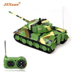 Jsxuan simulazione tedesco rc tiger serbatoio 14 ch 1:72 telecomando simulato panzer mini serbatoi per bambini giocattolo per bambini regalo 201208