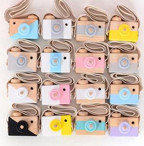 Sevimli Ahşap Oyuncak Kamera Bebek Çocuk Asma Kamera Fotoğraf Prop Dekorasyon Çocuklar Eğitim Oyuncak Doğum Yılbaşı Hediyeleri KKA8115
