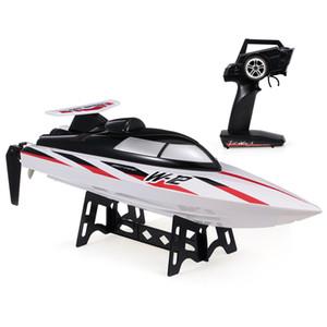 Originale WLtoys WL912-A RC Boat 2.4G 35KM / H ad alta velocità della barca di RC Capsize Protezione giocattolo di telecomando Barche RC Racing Boat Giocattoli