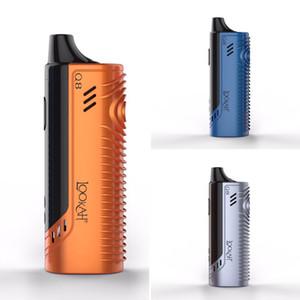 Beracky Lookah Q8 Kit de vaporizer de cera portátil com ferramenta da DAB Câmara de quartzo autêntica E-unha pré-aquecimento penas para plataformas de tubos de água de vidro