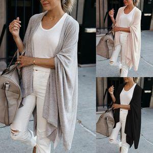 Women Sweater Women Long Sleeve Casual V Neck Open Front Cardigan Irregular Coat Outerwear Drop Shipping High Quality