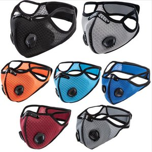 Donna Uomo Designers Valore riciclaggio nero Ski Mask Maschere Outdoor Sport Ciclismo antipolvere PM2.5 Protectve Moda maschera di protezione del 2020 Hot E81402