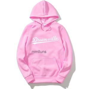 Spring Sweater Homens Dreamville J. Cole Cole Moletom Com Capuz Hoodies Hope Hip Hop Casual Pullovers