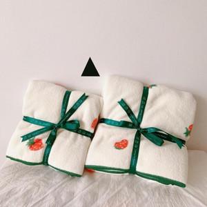 2pcs set soft parent-child bath towels household towel set body towel face set