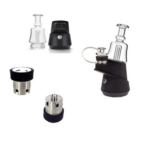 SOC Vaporizer Kit 2600mAh Wax Vaporizer TC Box Mod Vape Battery With Ceramic Quartz Wax Atomizer Glass Bong Dab Rig