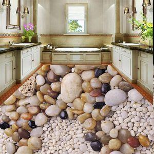 3d landscape wallpaper floor wallpaper 3d for bathrooms 3D cobblestone kitchen bathroom floor tiles decoration painting