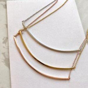 Popolare moda in acciaio inox in acciaio inox oro sorriso collana bijoux per lady design donne party wedding lovers gioielli regalo per la sposa
