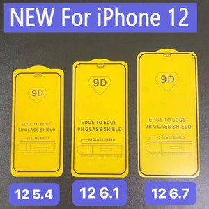 9D Full Cover Tempered Glass Phone Screen Protector For iPhone 12 PRO MAX 11 XR X XS MAX 8 7 plus Samsung A71 A51 5G