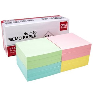 1 Package Lot 5176 Mm Note Paper 100 Page Sticky Note Sticker Post It Labels Stickers Note Creative Deli 7155 wmtPuT my_home2010
