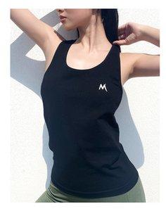 Wmuncc verano aptitud de los deportes Tops Mujeres I-back flojo sin mangas del chaleco de entrenamiento de la gimnasia transpirable de secado rápido Formación Seamless camisas