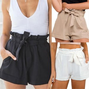 2019 Summer Sexy Shorts Women Fashion Hot Sexy Short Pants Office Lady Casual Shorts Solid Color Beach Trunks Feminino Bottoms