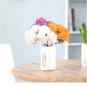 6pcs lot 20cm Gorse Artificial Flowers Simulation Bouquet For Wedding Home Table Vase Decoration Diy Handmade Flower jllWjA