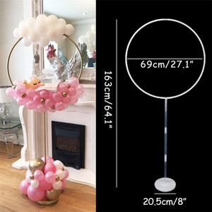 Birthday Party Baloons Garland Stand Balloon Holder Column Wedding Party Decoration Confetti Baloon Christmas Party Decorations 201127