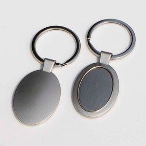 10x Boş Metal Kişiselleştirilmiş fotoğrafın anahtarlıklar Özel Resim Anahtarlık Oval Şekli KP01Y ÜCRETSİZ GÖNDERİM Keychains