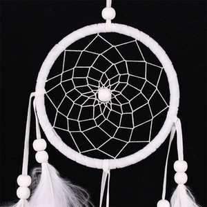 New Study Room Dream Net Catcher Home Furnishing Wall Hanging Wind Chime Natural Colorful Fluff Feather Handmade Decorate Popular 5 5sj M2