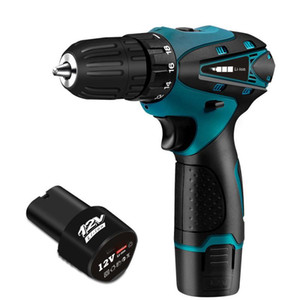 Electric Drill Cordless Screwdriver Lithium Battery Mini Drill Cordless Screwdriver Power Tools