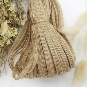 100 Yards   0.6cm Solid Color Fish Silk Twine Retro Decorative Rope Natural Jute Rope Weaving Home Creative Handmade1