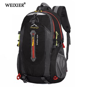 Weixier Casual Large Men's Nylon Laptop High Quality Waterproof Bag Backpack Student Capacity Youth Mnnsp