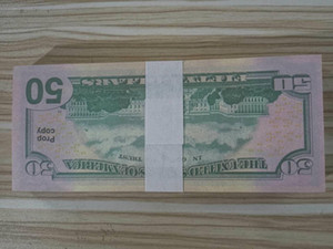 Euro Note Money Dollar Promoney Paper Usa Rups-218 Виллы Fake Bank 50 Pro Bar Banknotes Цены на деньги WSSSK