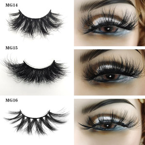 3D 25MM Mink Lashes Eyelash Natural False Eyelashes Fake Long Makeup Extension Mink Eyelashes Beauty Tool