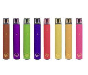 Hot Puff MAX 2000 Puffs Dispositivo desechable Pod 1200mAh Batería 8.5ML Vaporizador E Cigarrillos Vape Pen Starter vacío Kit