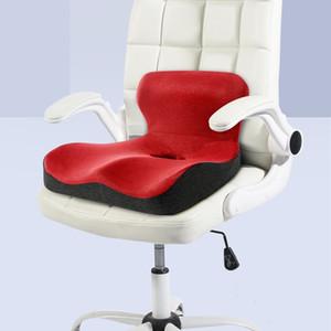 """""""L"""" Forma Memoria Espuma Cojín Ortopédico Comodidad Comfort Diseño ergonómico Atrás Cochcyx Almohada para asiento de automóvil Silla de oficina Alivio de dolor 201216"""