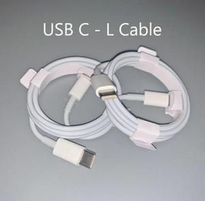 100pcs lot Original oem Quality Fast Charger type c to L Cable PD Cable 1m 3ft 2m 6ft USB-C to 11pro Cable