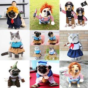 Pet Köpek bir Bıçak Noel Kostüm Yenilik Küçük Orta Köpek Kedi Partisi Cosplay Giyim Giyim Cadılar Bayramı Giyim Köpekler Holding