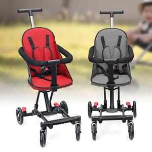 Детская коляска Легкий Складной Детский Карец Безопасность Удобная Коляска с 360 ° Четыре Вращающееся Колесо для ребенка
