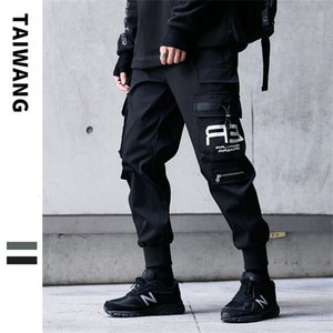 Men's overalls 2020 autumn and winter New Multi-bag men's trousers high street fashion casual pants for menLHS8