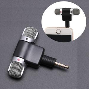 Mini 3,5-mm-Jack-Mikrofon-Stereo-Mikrofon für das Aufnehmen von Mobiltelefonstudio-Interviewmikrofon für Smartphone-Computer