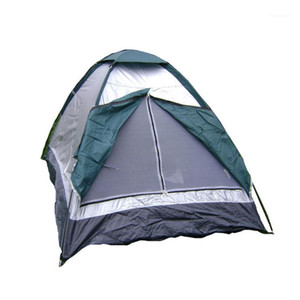 2 Person Up Tent Camping Backpacking Hiking Cabin Tent Camouflage1