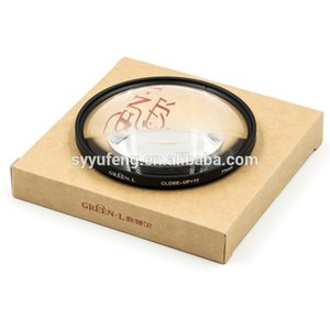 Factory high quality lens 77mm close up filter+10 camera filter