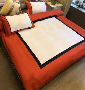 Хлопковые тканевые постельные принадлежности Queen размер печатные одеяло с продажи 2 подушка чехлы