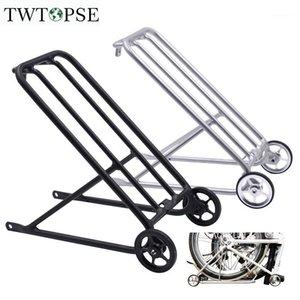 Twtopse Bike Standard Racks pour BRompton Pliage Bicycle Facile Roue Easy Cargo Cargo Stables Vélo T6 Aluminium 310G CNC Anodizing1
