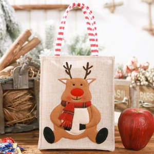 Santa Claus Christmas Candy Bag Elk Pants Treat Pocket Home Party Gift Decor Uk