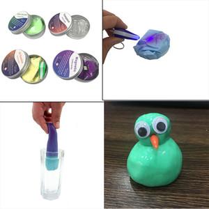 DIY الوحل المغناطيسي بوليمر كلاي المعجون الذكي المطاط المغناطيس نمذجة الطين اليد السحرية ترتد ألعاب طفل هدية
