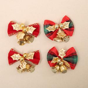 Weihnachtsdekorationen Schmetterlingsbänderglocke Weihnachtsgeschenkdekoration Weihnachtsbaum Kranz Dekoration T3i51363