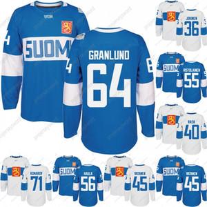 2016 World Cup of Hockey 핀란드 팀 저지 Komarov Granlund Haula Ristolainen Filppula Vatanen Rask Jokinen 남성 여성 청소년 Hoceky 유니폼
