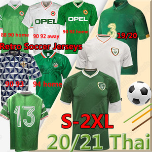 2020 21 Irlande Soccer Jerseys National Retro 1988 90 92 94 98 Coupe du Monde Vintage Classic Hendrick Doherty McGoldrick Duffy Football Uniforms