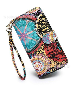 Women's Long Wallet Canvas Printed 2020 Customized