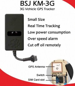 3G GPS del veicolo che segue il dispositivo KM-3G GPS dell'automobile del camion Tracker Locator Geo-recinto Tagliare Olio multifunzione Locator Over Speed Allarme 1OcD #