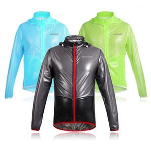 Cappotto da pioggia da corsa Moto Rider Raincoat Motocross Abbigliamento Abbigliamento Moto Guida Giacca da pioggia Impermeabile Uomo Donna Cycling Coat1