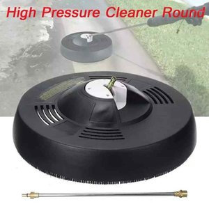 High Pressure Cleaner Round Flat Rotary Surface Cleaner Car Garden Pressure Washer 1 4 Inch Quick Adapter Connector Rod1