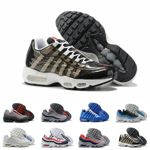 Nike Air Max 95 Running Shoes Womens Mens Aqua Neon Laser Fucsia Uva Orbit 20 progettista di qualità Sneakers alte 95S Classic Formatori