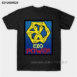 Männer T-Shirt Exo Power (gelb) Kpop T-Shirt Frauen-T-Shirt T-Shirt oben 47112710