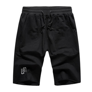 2020 Summer Mens Shorts Casual Solid Color Board Shorts Men Trunks Beach Board Mens Running Sports Surffing