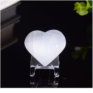 1 ADET Doğal Beyaz Aşk Selenit Alçı Ore Mineral Reiki Şifa Ev Dekorasyon Koleksiyonu DIY Hediyeler Qylzzd
