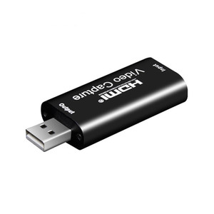 Tarjeta de captura de video 1080P HDMI a USB Video Grabber Record Box para PS4 Game DVD Camcorder HD Cámara de grabación en vivo Streaming